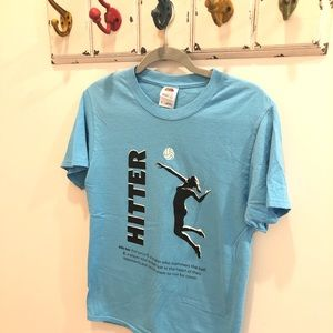 """Tops - Volleyball """"Hitter"""" Tee 